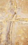 Textura de la piedra arenisca de Erroded Imagen de archivo