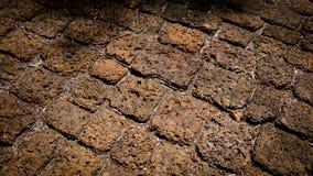 Textura de la piedra de la laterita Fotografía de archivo
