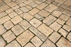 Textura de la piedra del adoquín Imagen de archivo