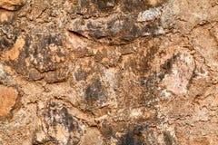 Textura de la piedra marrón Imagen de archivo