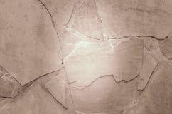 Textura de la piedra marrón clara Fotografía de archivo libre de regalías
