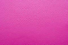 Textura de la piel artificial rosada Imagen de archivo libre de regalías
