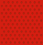 Textura de la piel de la fresa Foto de archivo libre de regalías