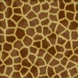 Textura de la piel de la jirafa ilustración del vector