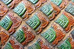 Textura de la piel del dragón Fotografía de archivo libre de regalías