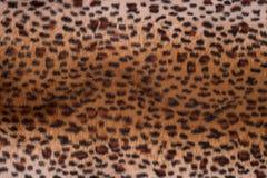 Textura de la piel del leopardo para el fondo Fotografía de archivo