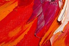 Textura de la pintura al óleo Fotografía de archivo
