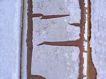 Textura de la pintura de la peladura Fotografía de archivo