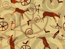 Textura de la pintura de la roca Imagen de archivo libre de regalías