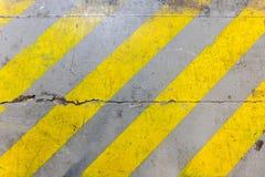 Textura de la pintura de la zona de seguridad Imágenes de archivo libres de regalías