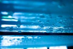 Textura de la piscina Foto de archivo