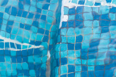 Textura de la piscina Imagen de archivo