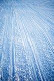 Textura de la pista del Snowmobile Fotos de archivo