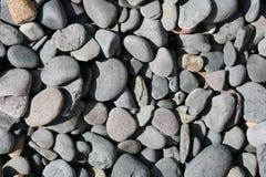 Textura de la playa de las rocas fotos de archivo