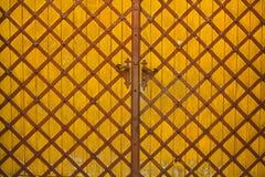 Textura de la puerta Imágenes de archivo libres de regalías