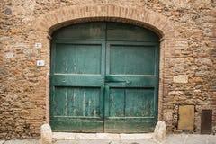 Textura de la puerta Fotos de archivo libres de regalías
