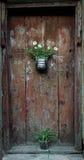 Textura de la puerta imagen de archivo libre de regalías