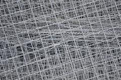 Textura de la red de alambre de acero Foto de archivo libre de regalías