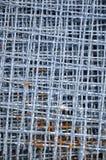 Textura de la red de alambre de acero Imagen de archivo libre de regalías
