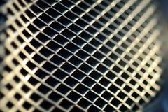 Textura de la rejilla del metal Fotos de archivo