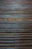 Textura de la rejilla del metal Imagen de archivo
