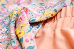 Textura de la ropa Foto de archivo libre de regalías
