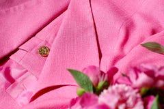 Textura de la ropa Imagenes de archivo