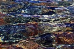 Textura de la superficie del agua Imagen de archivo libre de regalías