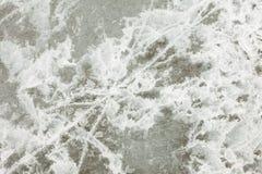 Textura de la superficie del hielo natural Fotos de archivo libres de regalías