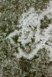 Textura de la superficie del hielo natural Foto de archivo
