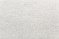 Textura de la superficie áspera del papel en blanco Fotos de archivo