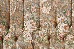 Textura de la tapicería de los muebles Foto de archivo libre de regalías