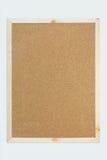 Textura de la tarjeta del corcho Imagenes de archivo
