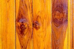 Textura de la teca marrón Imagen de archivo