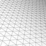Textura de la teja del techo de la extensión, interior futurista del negocio moderno de la tecnología del vector stock de ilustración