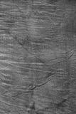 Textura de la tela arrugada gris oscuro Imagenes de archivo