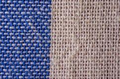 Textura de la tela, cierre del fondo del paño para arriba Imagen de archivo