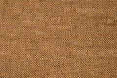 Textura de la tela de Brown Foto de archivo libre de regalías