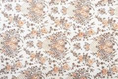 Textura de la tela de la flor imagenes de archivo