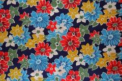 Textura de la tela de la flor Fotografía de archivo libre de regalías