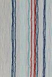 Textura de la tela de la raya Fotografía de archivo libre de regalías