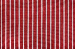 Textura de la tela de la raya Fotos de archivo libres de regalías
