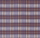 textura de la tela de la tela escocesa Foto de archivo libre de regalías