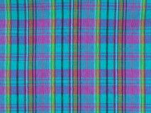 textura de la tela de la tela escocesa Fotos de archivo