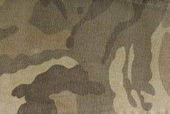 Textura de la tela del camuflaje Foto de archivo