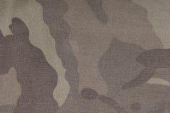 Textura de la tela del camuflaje Imagen de archivo