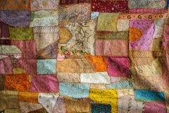 Textura de la tela del color Imagen de archivo libre de regalías