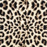 Textura de la tela del leopardo Fotos de archivo