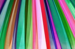 Textura de la tela del multicolor Fotografía de archivo libre de regalías