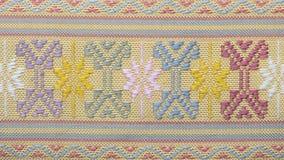 Textura de la tela del paño Foto de archivo libre de regalías